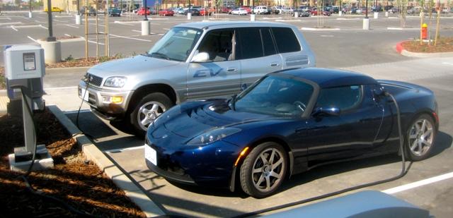 Tesla  RAV Charging