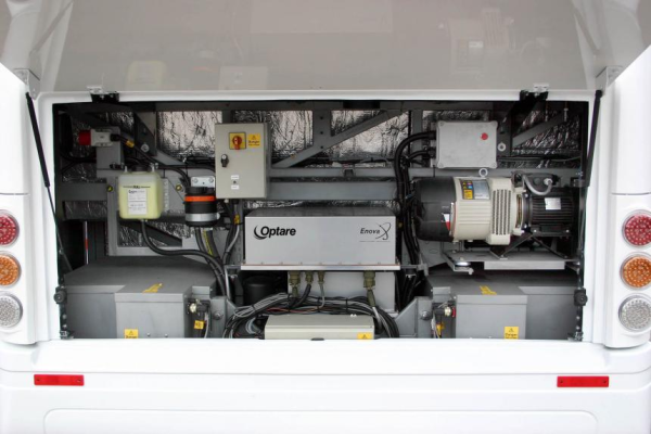 optare introduces battery electric bus green car congress