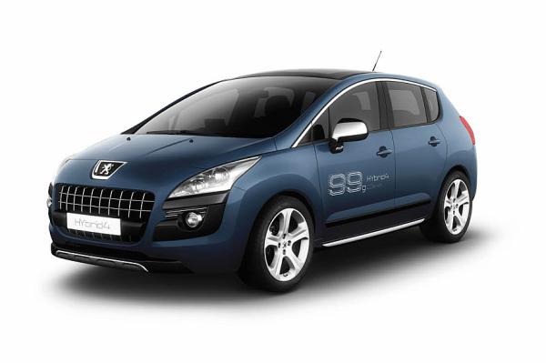 Peugeot Shows Two Hybrid4 Concepts New Bb1 Ev Concept At Frankfurt
