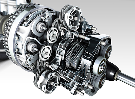 Renault Highlights New Automatic Dual Clutch Transmission at