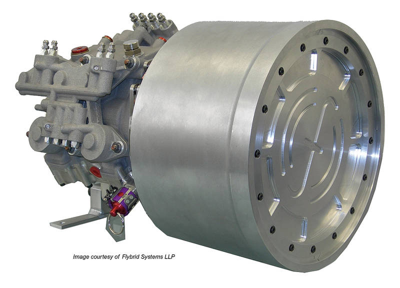 News Kers Flywheel System To Power Large Trucks Fuel