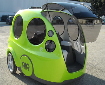 Who Invented The Automobile >> KLM Testing MDI AirPod Compressed Air Cars at Schiphol; UC Berkeley Study Finds Compressed Air ...