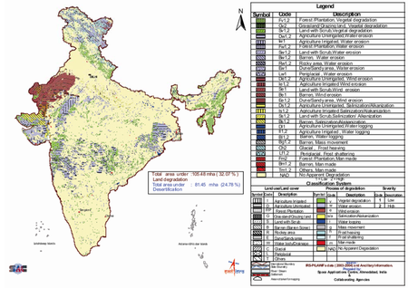 25% of Indias Total Geographic Area is Undergoing Desertification ...