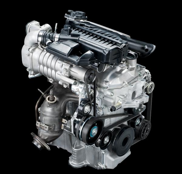 Nissan Unveils New 3-Cylinder 1 2L Supercharged Gasoline