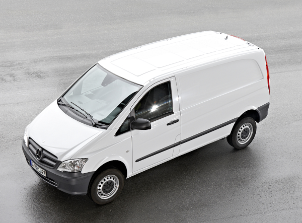 Mercedes-Benz Revamps Vito and Viano