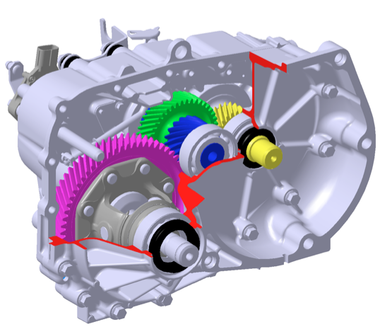 Transmission 7 Quot 42 Lbs Gear Ratio 7 065 Mitsubishi I