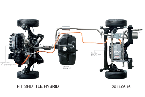 Honda Begins Sales Of New Fit Shuttle And Fit Shuttle Hybrid In