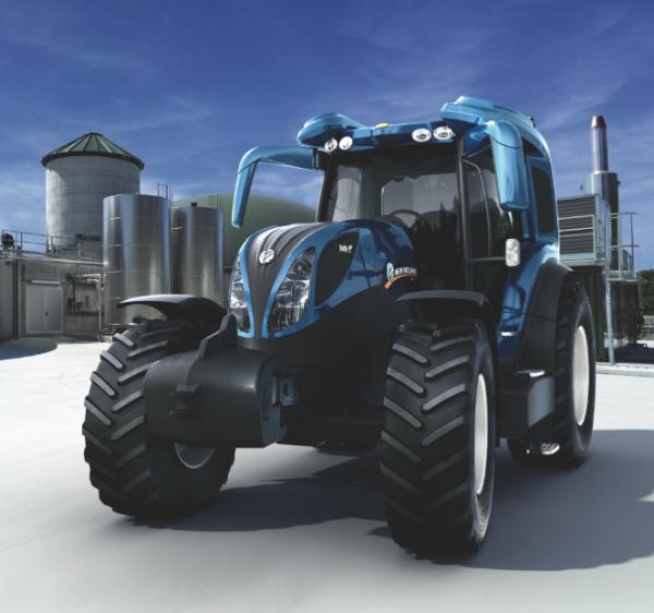 New Holland Showcases Farm-ready Hydrogen Fuel Cell NH2