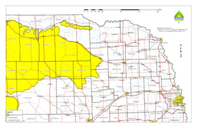 Green Car Congress Nebraska Provides TransCanada With Map