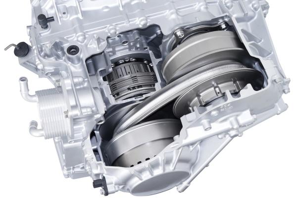 Honda    develops new CVT for midsize vehicles  featured