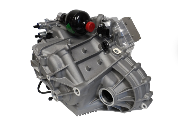 DSD 3-speed EV transmission with Oxford YASA axial flux motor to be