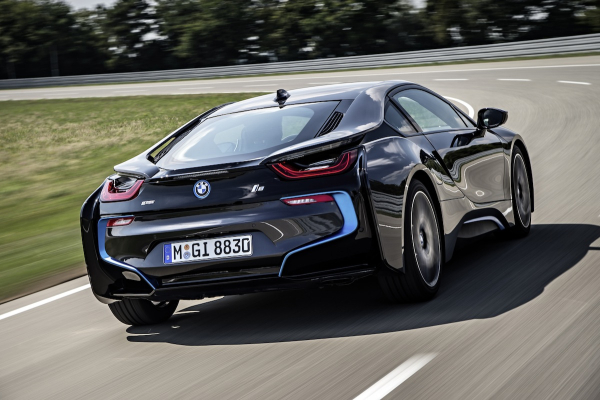 Bmw Unveils Production I8 Plug In Hybrid 94 Mpg On Sale In Us In