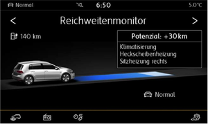 Range monitor