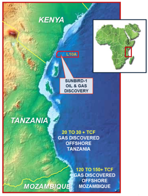 Pancontinental says first oil discovered offshore Kenya