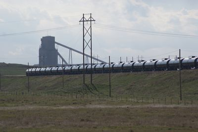 1st crude oil train departs Meritage Midstream's Black Thunder Terminal at Arch coal mine