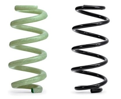 Audi to use suspension springs of glass fiber-reinforced polymer instead of steel