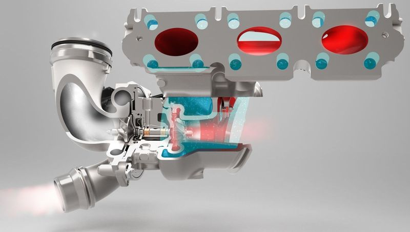Continental supplying first turbocharger with aluminium housing