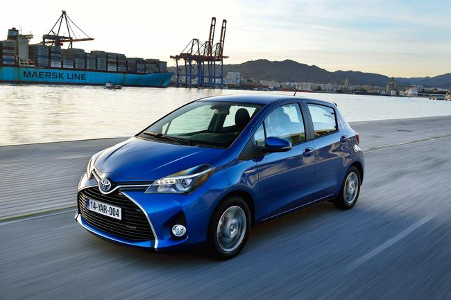 Refreshed 2014 Toyota Yaris features revamped 1.0L engine switchable between Atkinson and Otto cycles