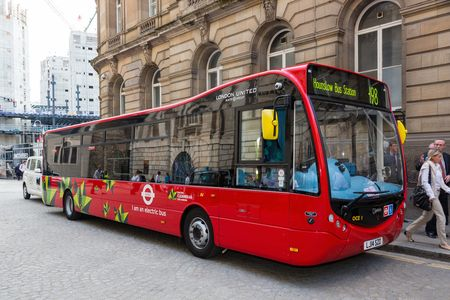 Four Optare electric buses enter service in London
