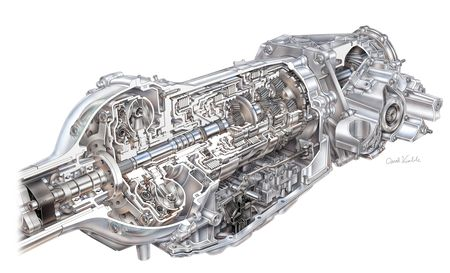 Details on GM's new efficient top-end 8-speed automatic
