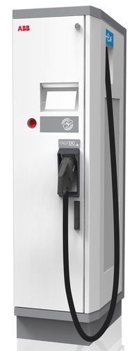 ABB launches first DC fast charger compliant with Chinese GB standard