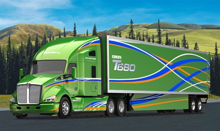 Kenworth and Peterbilt introduce more fuel-efficient Class 8