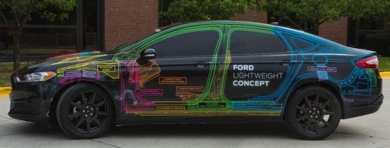 Ford introduces Lightweight Concept vehicle