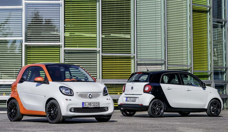 new smart fortwo and forfour World premiere