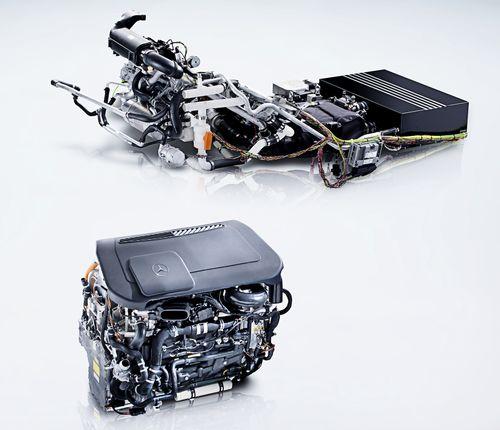 Mercedes B Class Fuel Cell Car