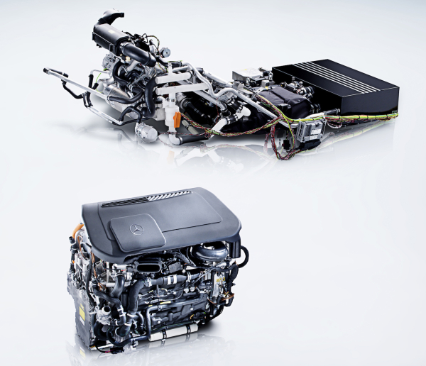 Mercedes-Benz B-Class F-CELL Fuel Cell Vehicle Cracks