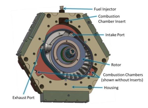 Ford Explorer Ecoboost >> LiquidPiston unveils 70cc rotary gasoline engine prototype embodying HEHC; power dense, low ...