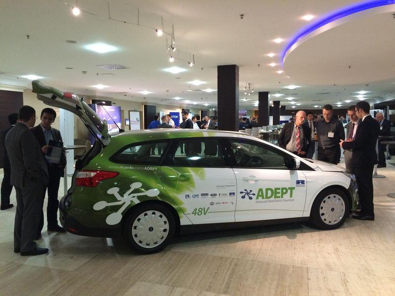 The Advanced Diesel-Electric Powertrain (ADEPT) prototype