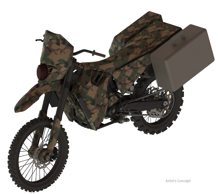 SilentHawk-DARPA awards Phase 2 SBIR contract for HEV motorcycle prototype