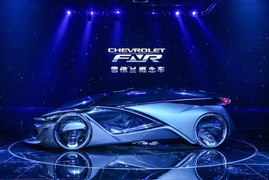 """5. 由泛亚中心主导设计的雪佛兰概念车CHEVROLET-FNR在2015""""上海通用汽车之夜""""全球首发"""