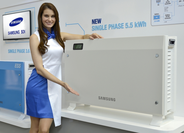Samsung SDI introduces 5.5 kWh and 8.0 kWh residential energy storage units