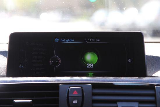 BMW brings Enlighten real-time signals app into car