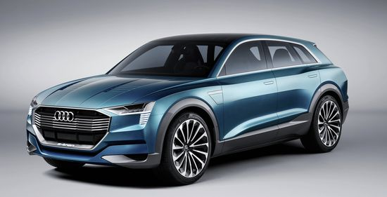 Audi E Tron Quattro Will Present An All Electric Luxury Cl Sport Suv In Early 2018 The Concept Provides A Preview Of