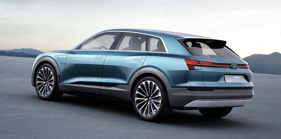 Audi E Tron Quattro. Audi Will Present An All Electric, Luxury Class Sport  SUV In Early 2018. The Audi Eu2011tron Quattro Concept Provides A Preview Of  The ...