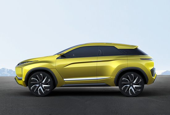 Mitsubishi Ex Concept Crossover Highlights Design And Electric Vehicle Technology Directions