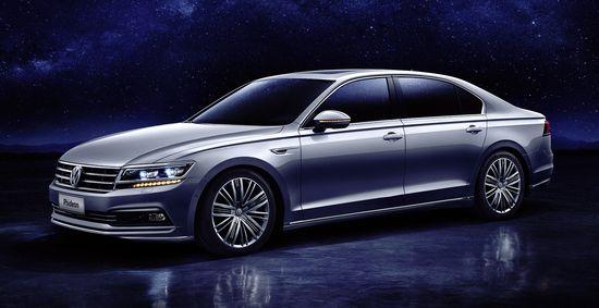 Volkswagen Launches New Luxury Flagship Phideon At Geneva Plug In