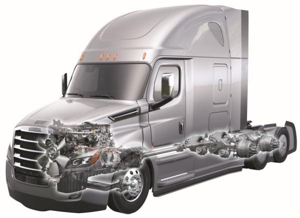Daimler Trucks Na Presents New Class 8 Freightliner