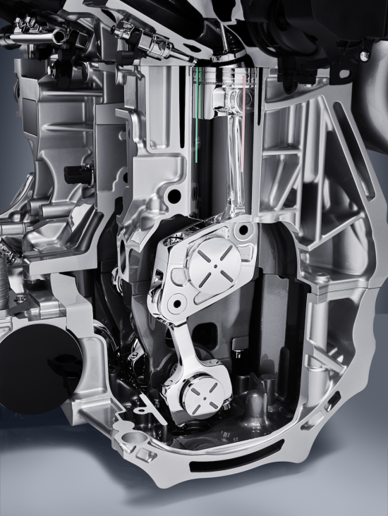 infiniti unveils i4 variable compression turbo engine; targeting 27