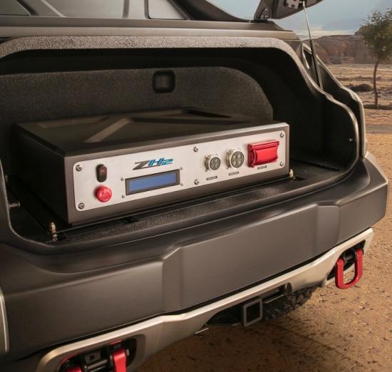 Colorado Zh2: Chevrolet Colorado ZH2 Fuel Cell Vehicle Debuts At AUSA