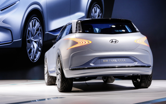 Hyundai Motor Reveals Next Generation Fuel Cell Concept At