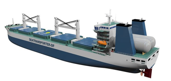 ABS issues Approval in Principle for LNG-fueled design concept for bulker