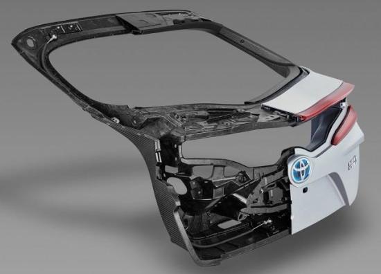 Toyota Using Mitsubishi Rayon S Carbon Fiber Smc For Hatch
