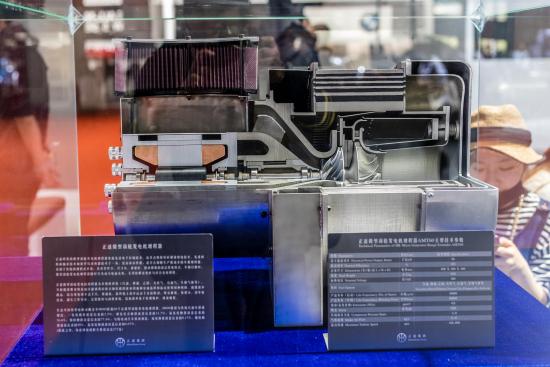 正道微型涡轮发电机増程器