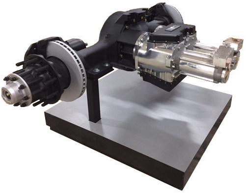 Wrightsd S Geared Traction Drive Ed To A Custom Axletech International Axle Provides High Electric And Regenerative Braking