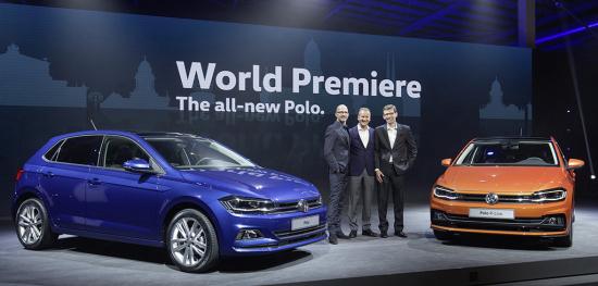 Volkswagen unveils the new Gen 6 Polo