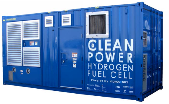 Project shows maritime fuel cell generator can increase energy